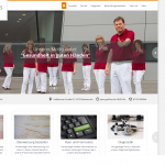 Medicross-Zentrum Orthopädie Sportorthopädie Unfallchirurgie Chirurgie Neckarsulm Website Homepage Relaunch