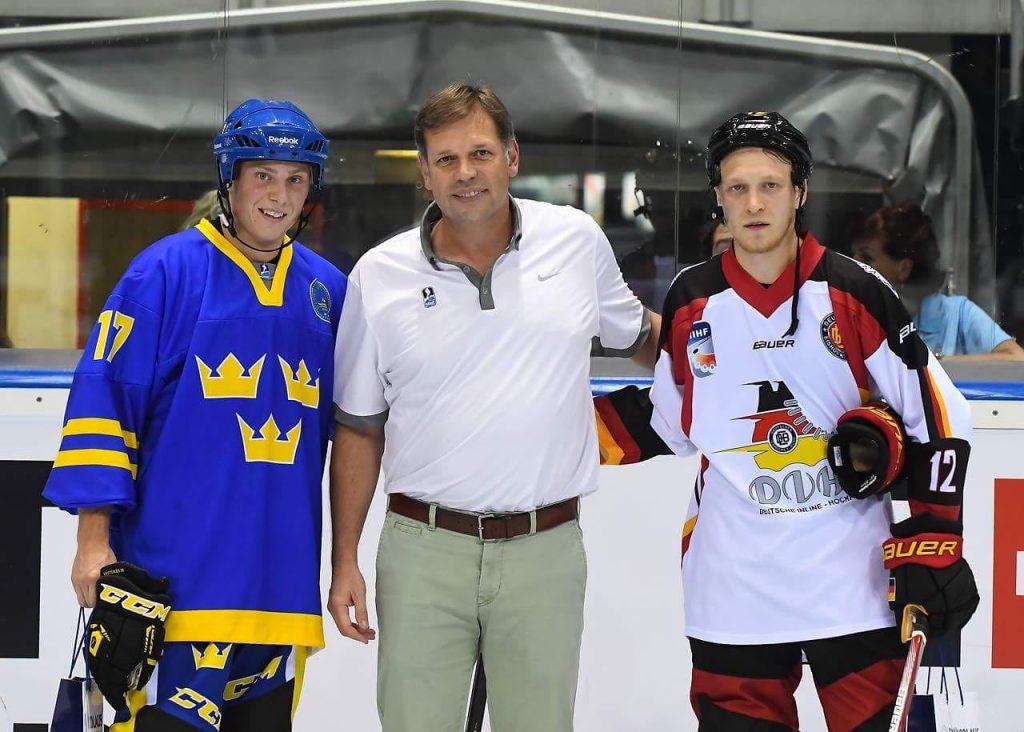 Medicross-Zentrum Orthopädie Sportorthopädie Unfallchirurgie Chirurgie Neckarsulm Boris Brand Eishockey WM 2017